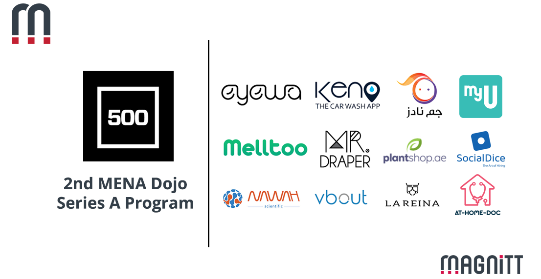 500 Startups Announces Investments In 12 Regional Startups As Part Of The Second 'MENA Dojo' Series A Program