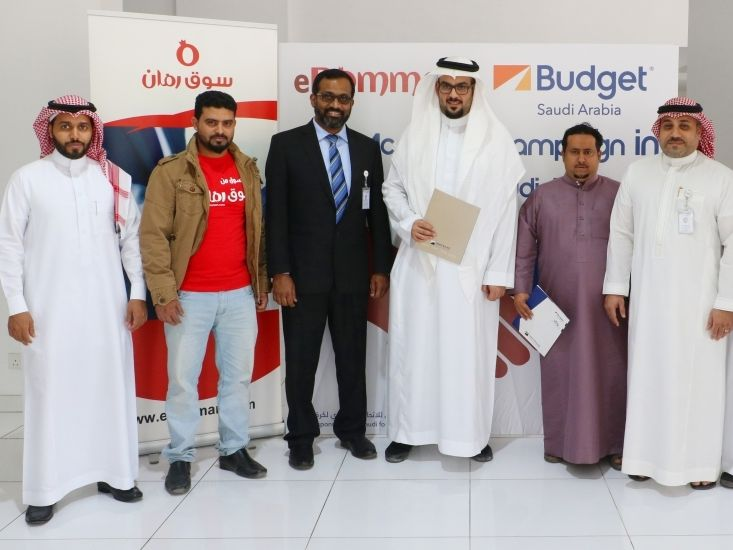Budget Saudi and eRomman Market sign joint marketing deal