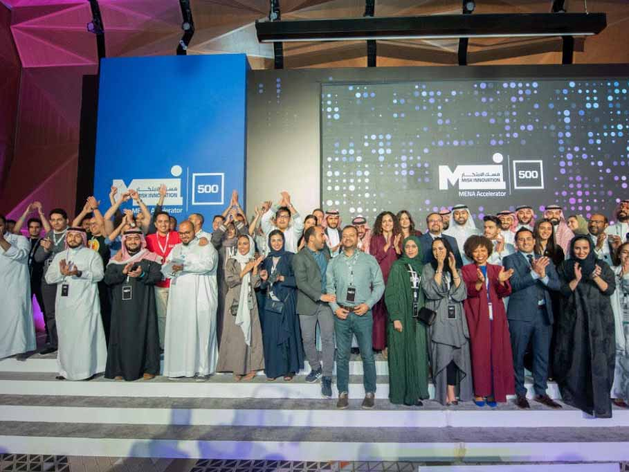 Misk and 500 Startups celebrate their first demo day featuring 19 fantastic innovative startups from all across the Middle East and North Africa who pitched their ideas in Riyadh