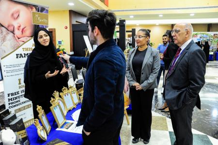 Abu Dhabi University showcases innovative ideas at Entrepreneurship Fair