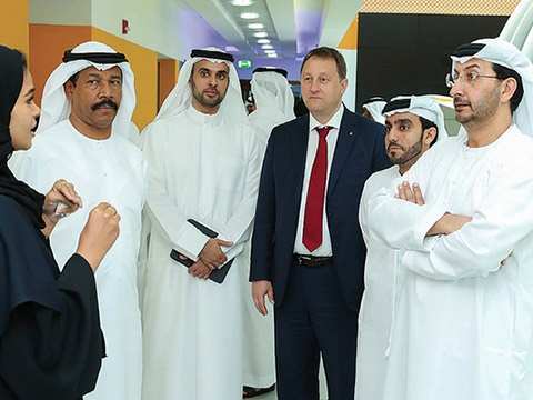 Abdullah Bin Ahmed Al Saleh leads MoE delegation to visit Borouge Innovation Centre