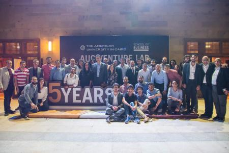 AUC's Venture Lab celebrates 5th anniversary, holds Demo Day