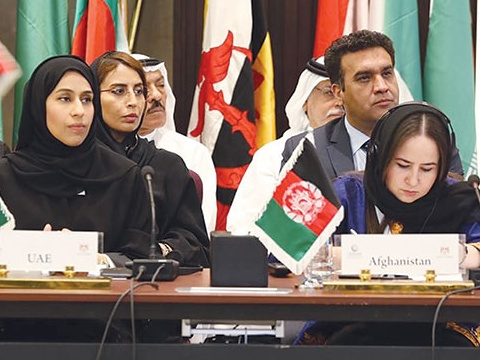 The UAE Minister of Community Development hails the UAE government's initiatives to ensure women empowerment at OIC meeting in Egypt