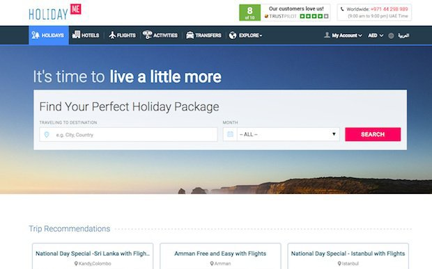 HolidayMe gets $7M funding