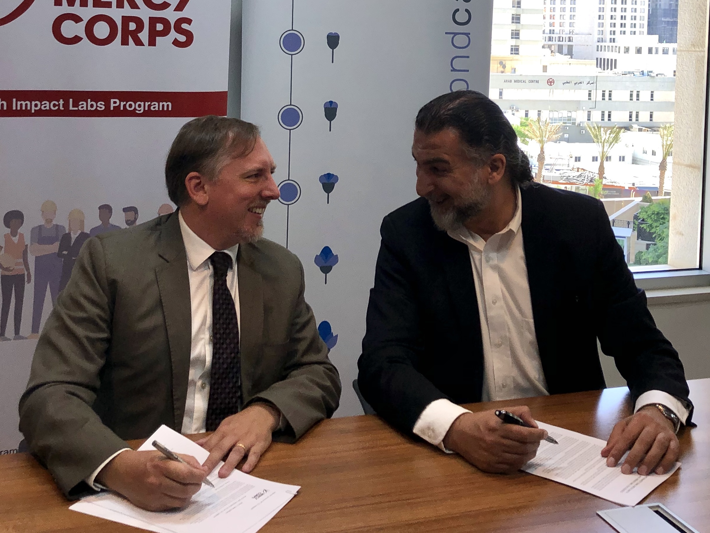 BeyondCapital and Mercy Corps to collaborate and invest in rising early-stage start-ups in Jordan