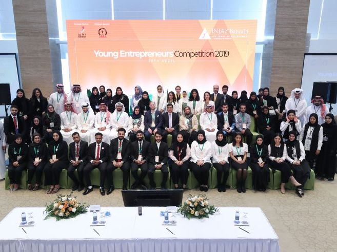 The best 6 young entrepreneurs who won the INJAZ Bahrain competition show the Kingdom's appeal to boost entrepreneurship
