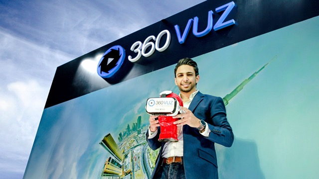 360VUZ secures the first round of funding in the virtual reality segment in the Middle East