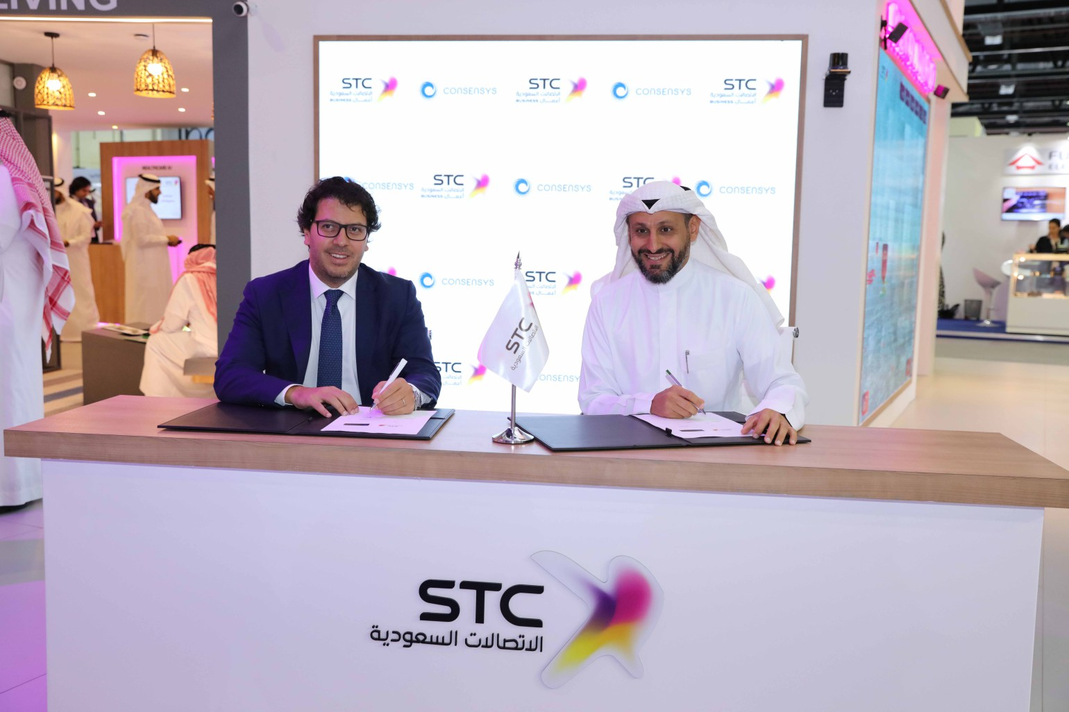 STC and ConsenSys come together to accelerate the blockchain movement in Saudi Arabia, here's how