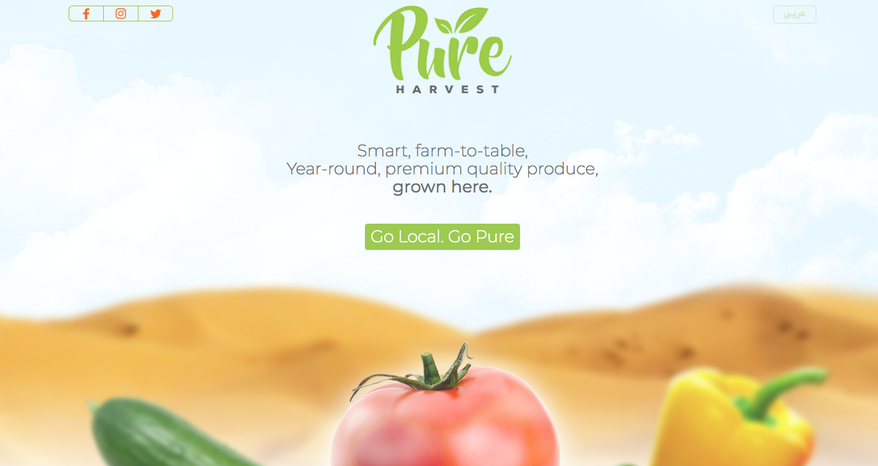 UAE-based Pure Harvest Smart Farms Raises USD $4.5 million in Region's Largest-Ever Seed Investment
