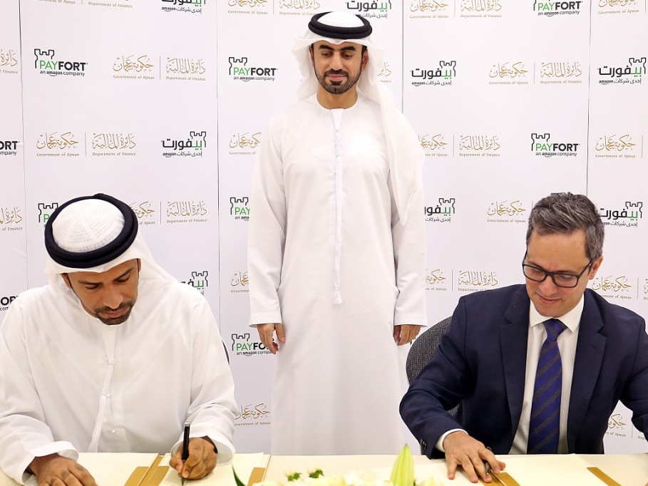 Amazon's PAYFORT Enters Partnership with Government of Ajman to Provide Payment Facilities via AjmanPay