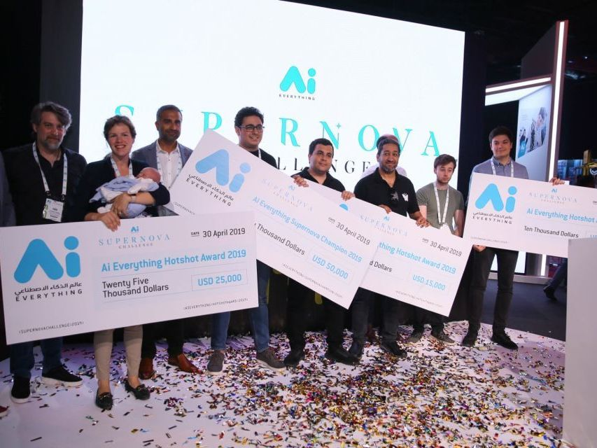 4 startups share the $100,000 on offer in the Supernova Challenge, the world's third largest startup pitch fund at this year's AI Everything.