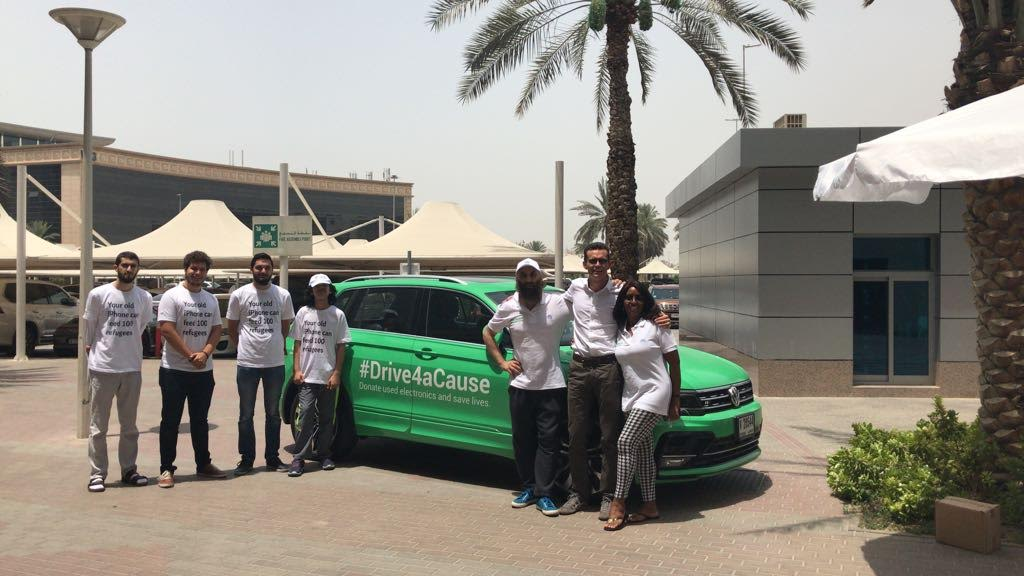 Melltoo and Volkswagen Middle East #Drive4ACause This Ramadan