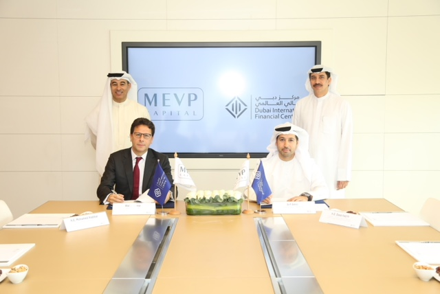 Dubai International Financial Centre and Middle East Venture Partners sign agreement to strengthen regional technology venture capital ecosystem