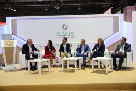 Opening of AIM Startup and Future Cities Show attract industry leaders, investors and entrepreneurs to Dubai