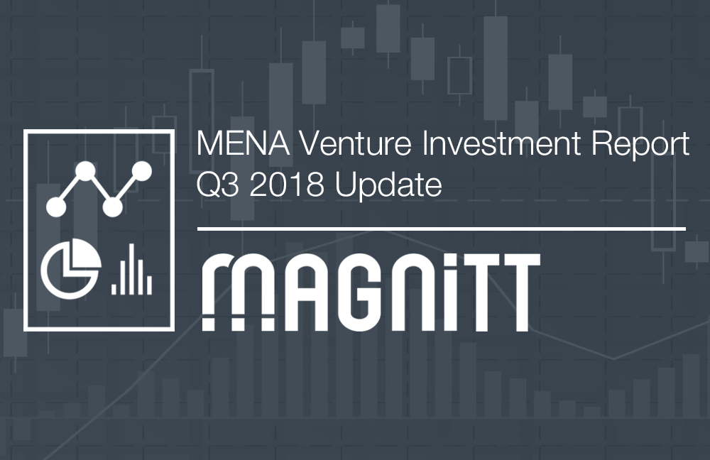 MAGNiTT's Q3 2018 Venture Investment report highlights the latest trends in venture capital funding across the MENA region for the first 9 months of 2018.