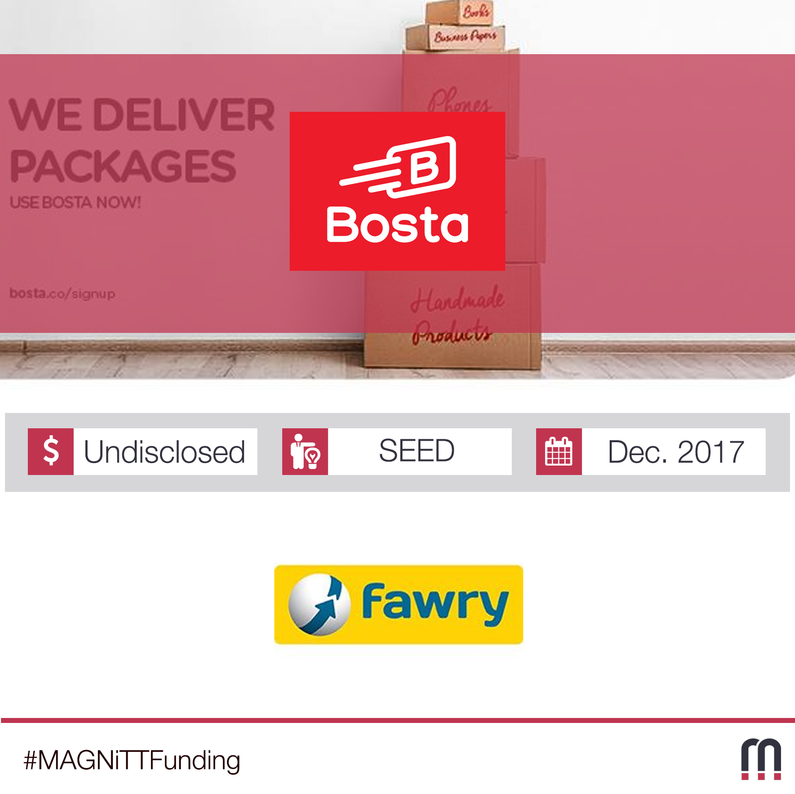 Egypt-based Bosta Receives Seed Investment from Fawry