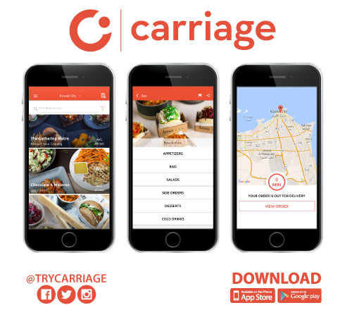 Delivery Hero buys Middle East firm Carriage