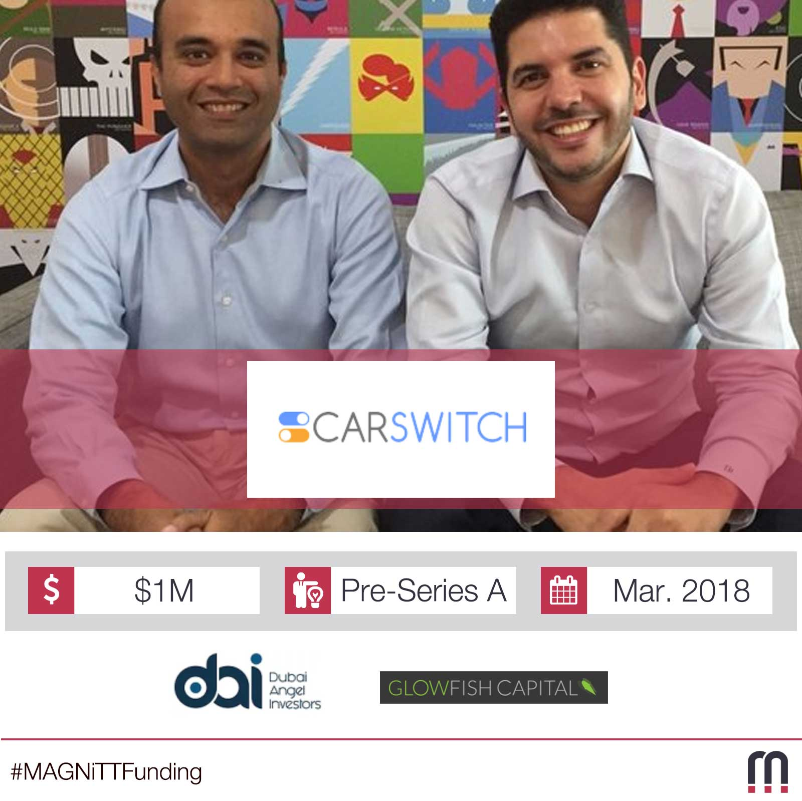 Dubai-based CarSwitch.com raises additional $1m in funding