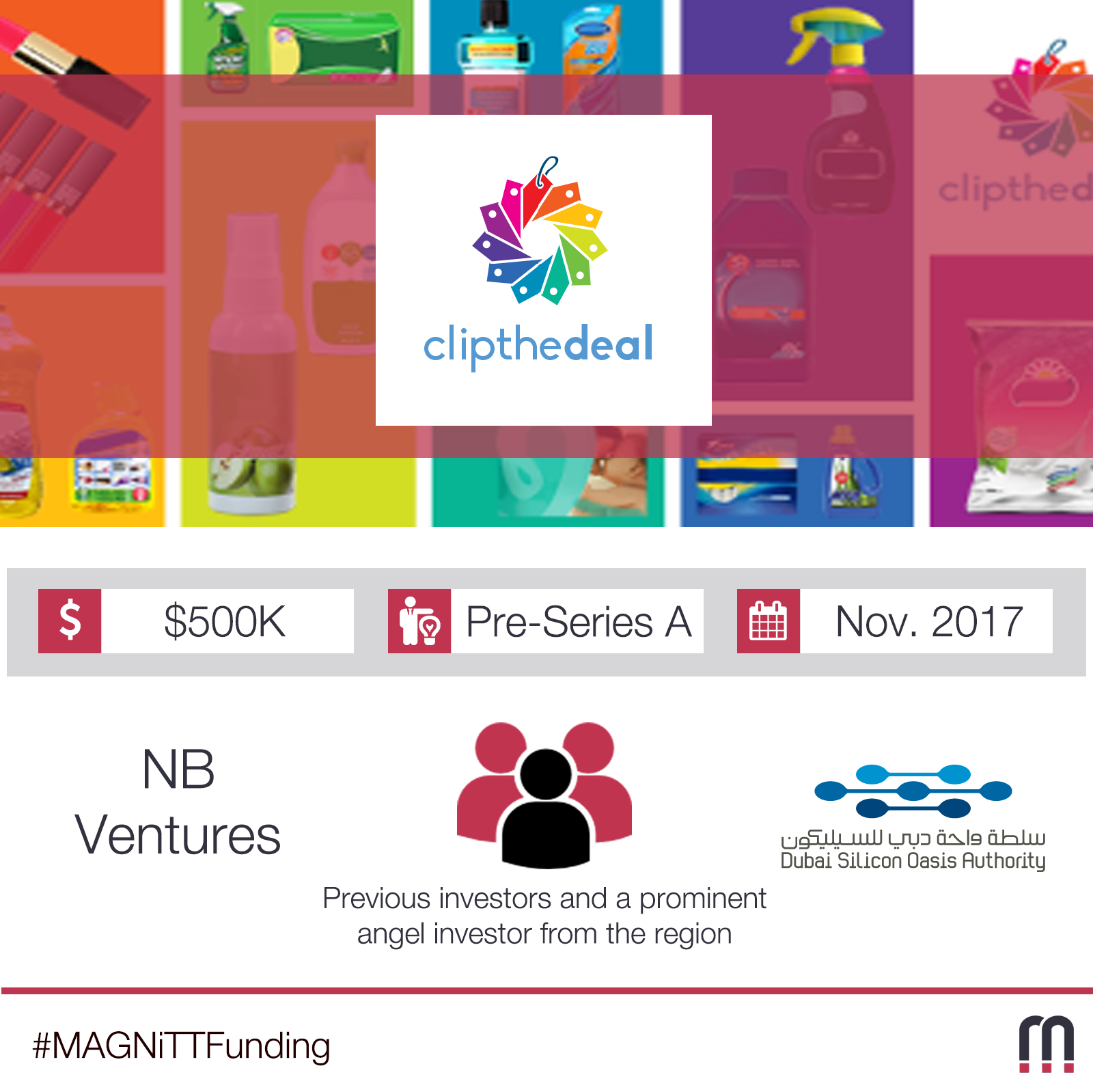 Clip the Deal, a Dubai-based digital grocery coupon platform, announces their second round of funding of $500K