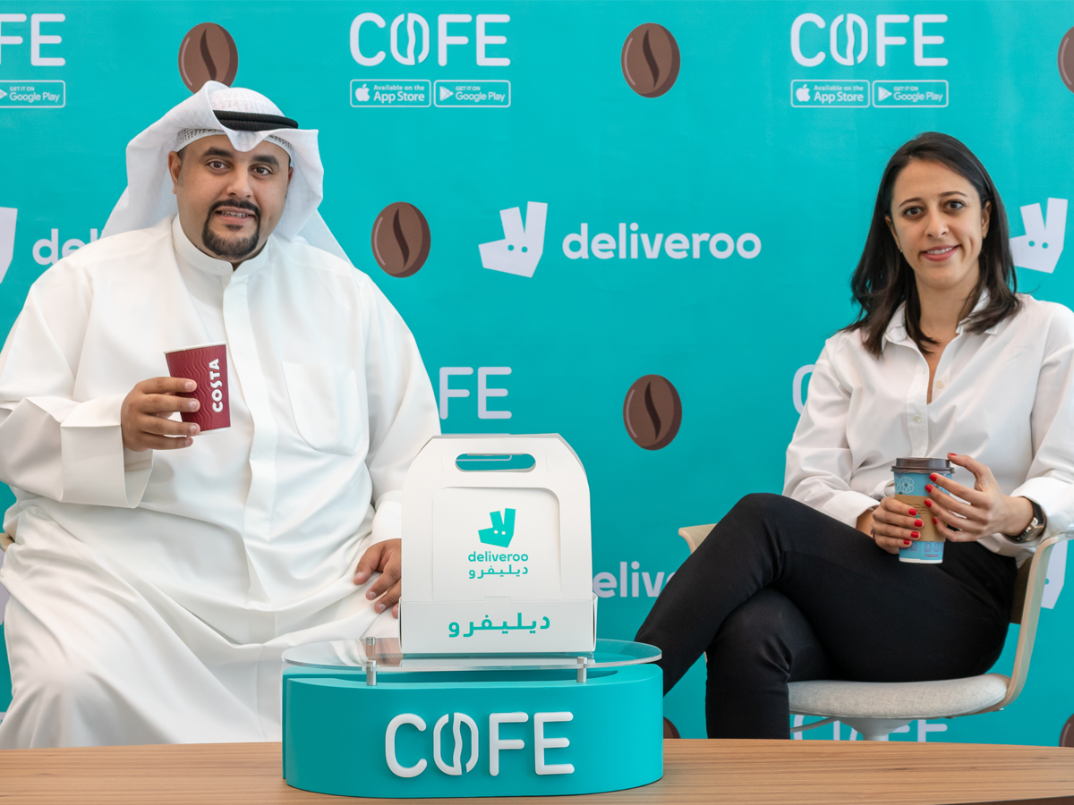 Coffee on demand! COFE App signs an exclusive partnership deal with Deliveroo as it looks to offer its customers a better experience and faster delivery services