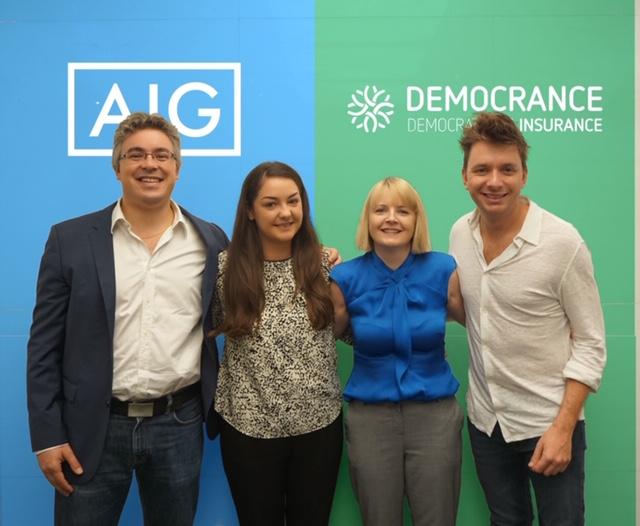 AIG MEA and UAE based Startup Democrance Partner to Disrupt Traditional Insurance Landscape