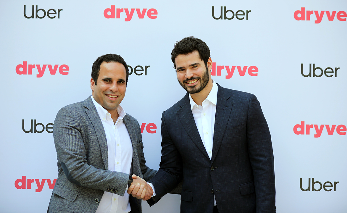 Uber now in partnership with Egypt's Dryve