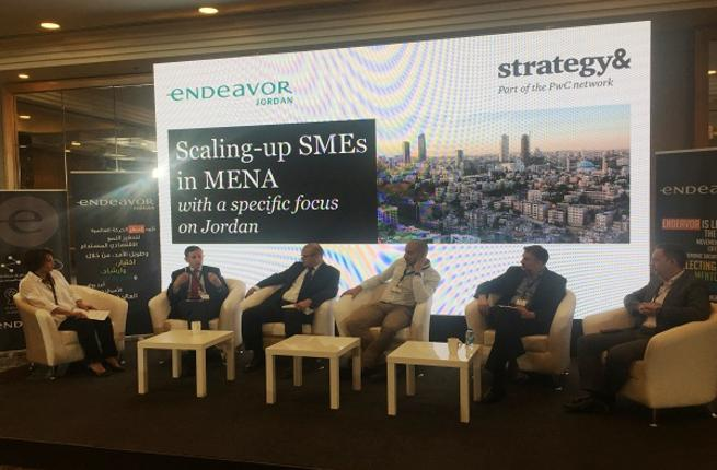 Endeavor Jordan and Strategy & Middle East Joint Event Discussed the Challenges of Scaling up SMEs
