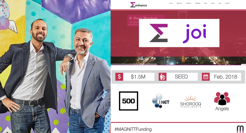 Venture Builder Enhance Closes Seed Round of $1.5 Million