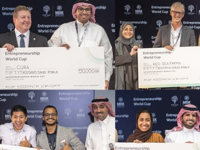 5 Saudi startups qualify for the Entrepreneurship World Cup, the $5 million competition