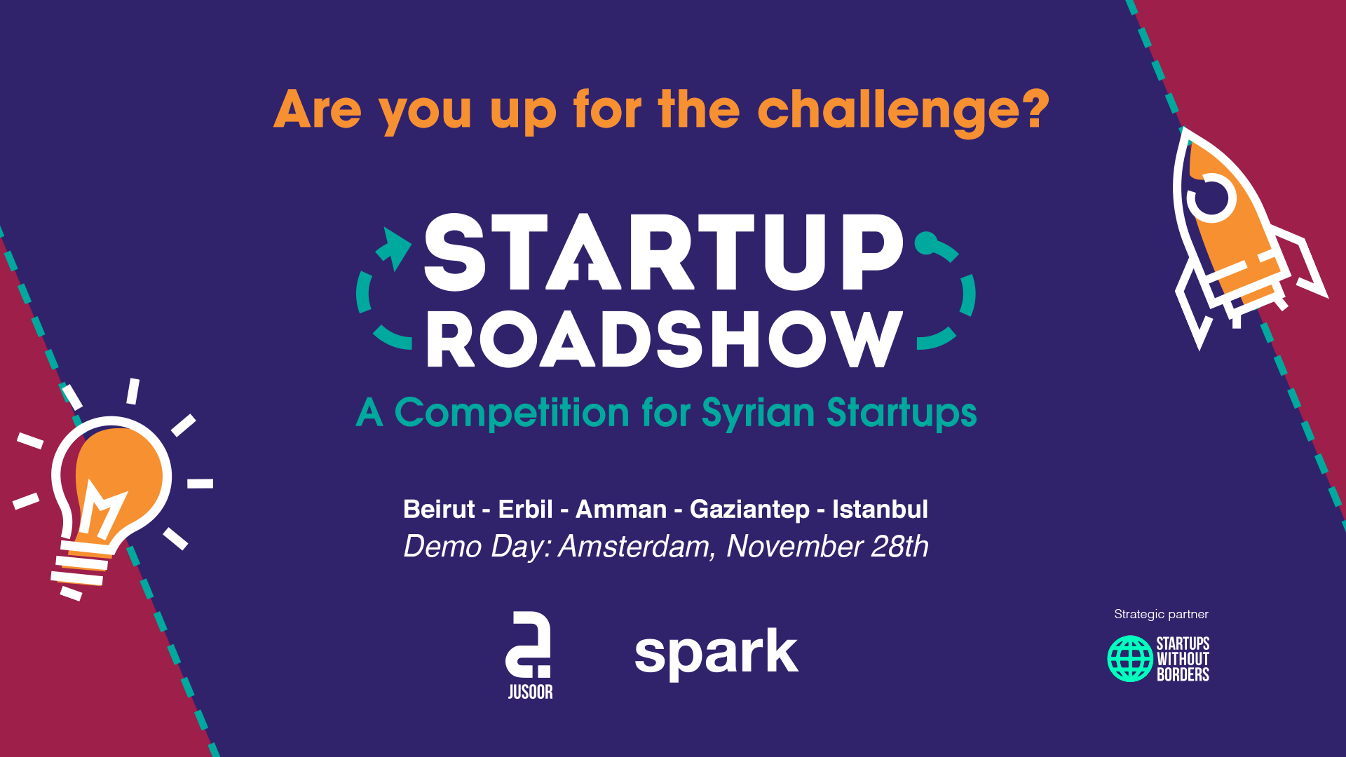 The Startup Roadshow is Gathering Syrian Entrepreneurs Across 5 Cities to Support Refugee-Led Startups