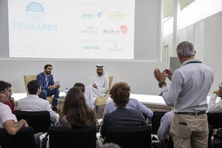 Fikra Labs Finalists Meet with His Excellency Saif Saeed Ghobash, Undersecretary, Department of Culture and Tourism - Abu Dhabi