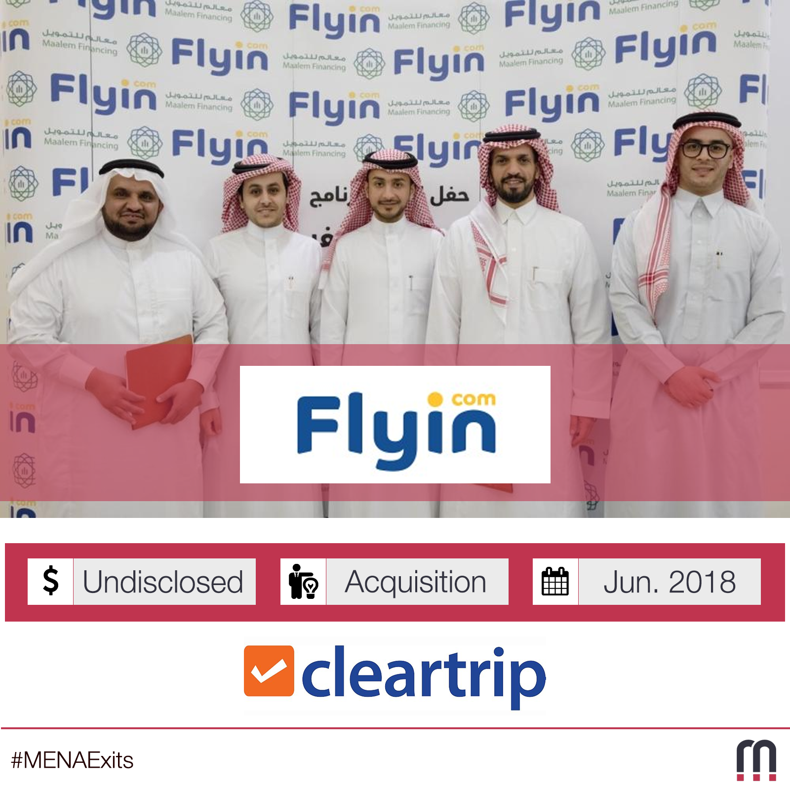 Cleartrip acquires Saudi Arabia's Flyin