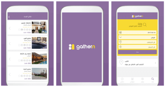 Challet booking platform Gathern raises SEED round