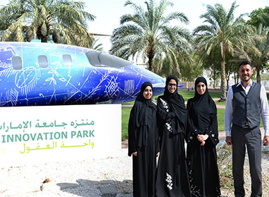 UAEU students take inspiration from nature to develop healthy water for global benefit