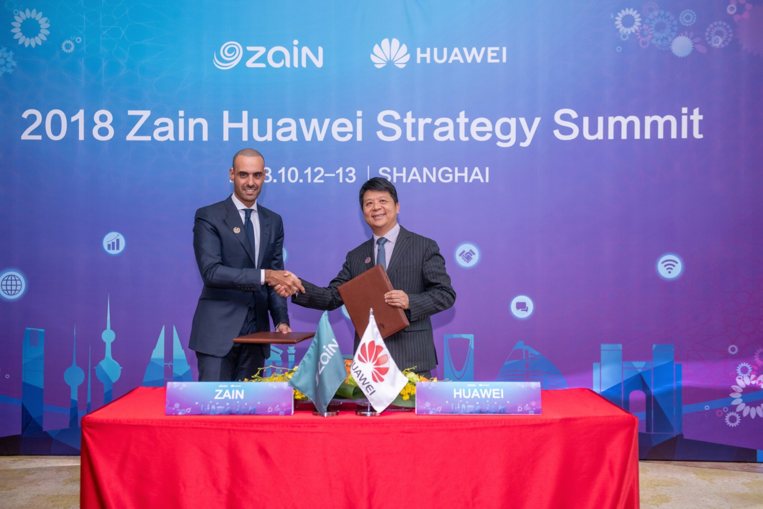 Huawei selects Zain to offer their CLOUD services in Kuwait