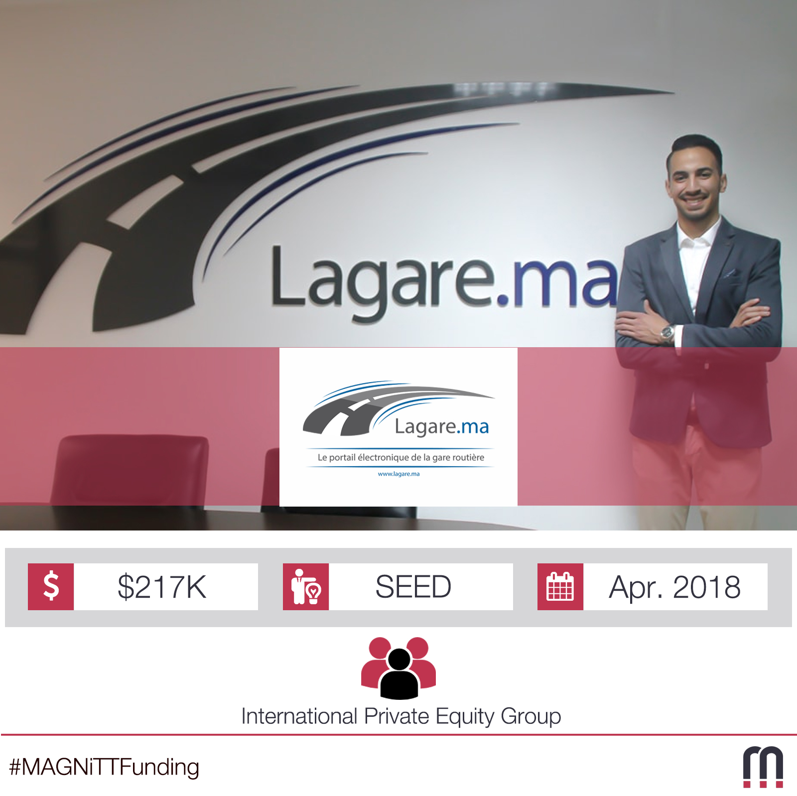 Morocco-based Lagare.ma raises $217K