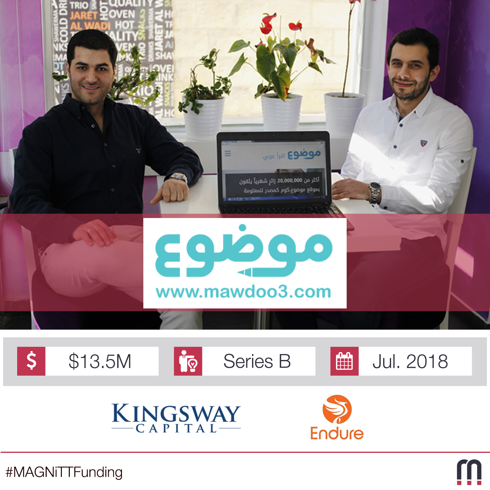 World's biggest Arabic website raises $13.5m from British and American VC funds