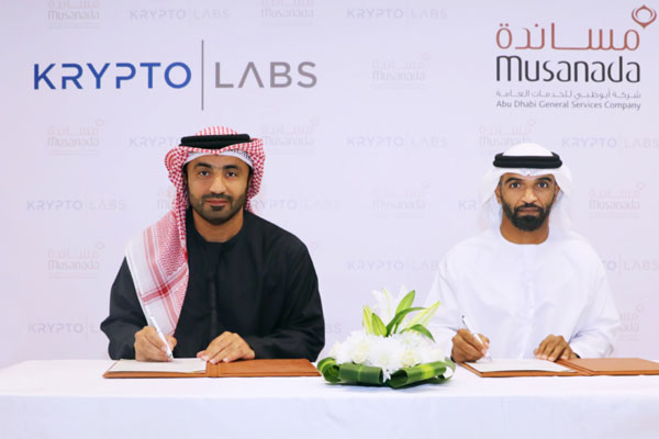 Musanada inks partnership deal with Krypto Labs