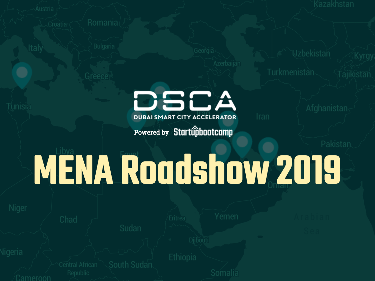 Dubai Smart City Accelerator kicks off MENA Roadshow to meet the region's best Smart City startups!