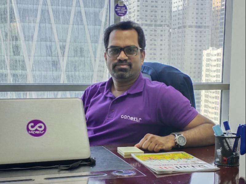 Get Conekted: MAGNiTT interviews Conektr Founder and CEO, Madhusudhanan Janakarajan