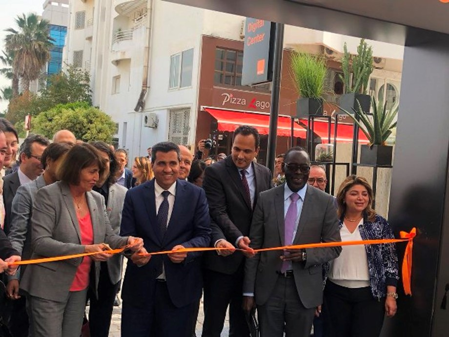 Grand opening of the first digital center in MENA to support Tunisian startups, train the youth in coding and invest in early-stage companies by French multinational mobile operator Orange