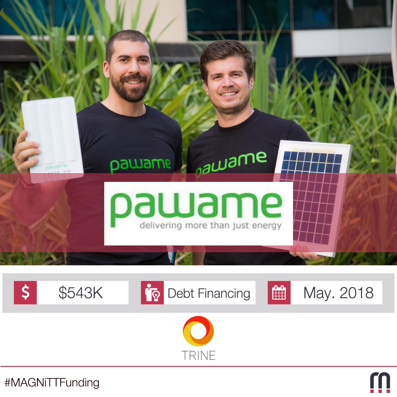 Pawame raises Half a Million USD in Debt Through Crowdfunding Campaign