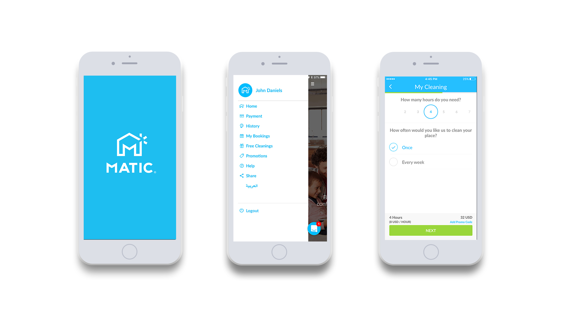 Home Cleaning marketplace Matic raises $3 million to expand in Middle East