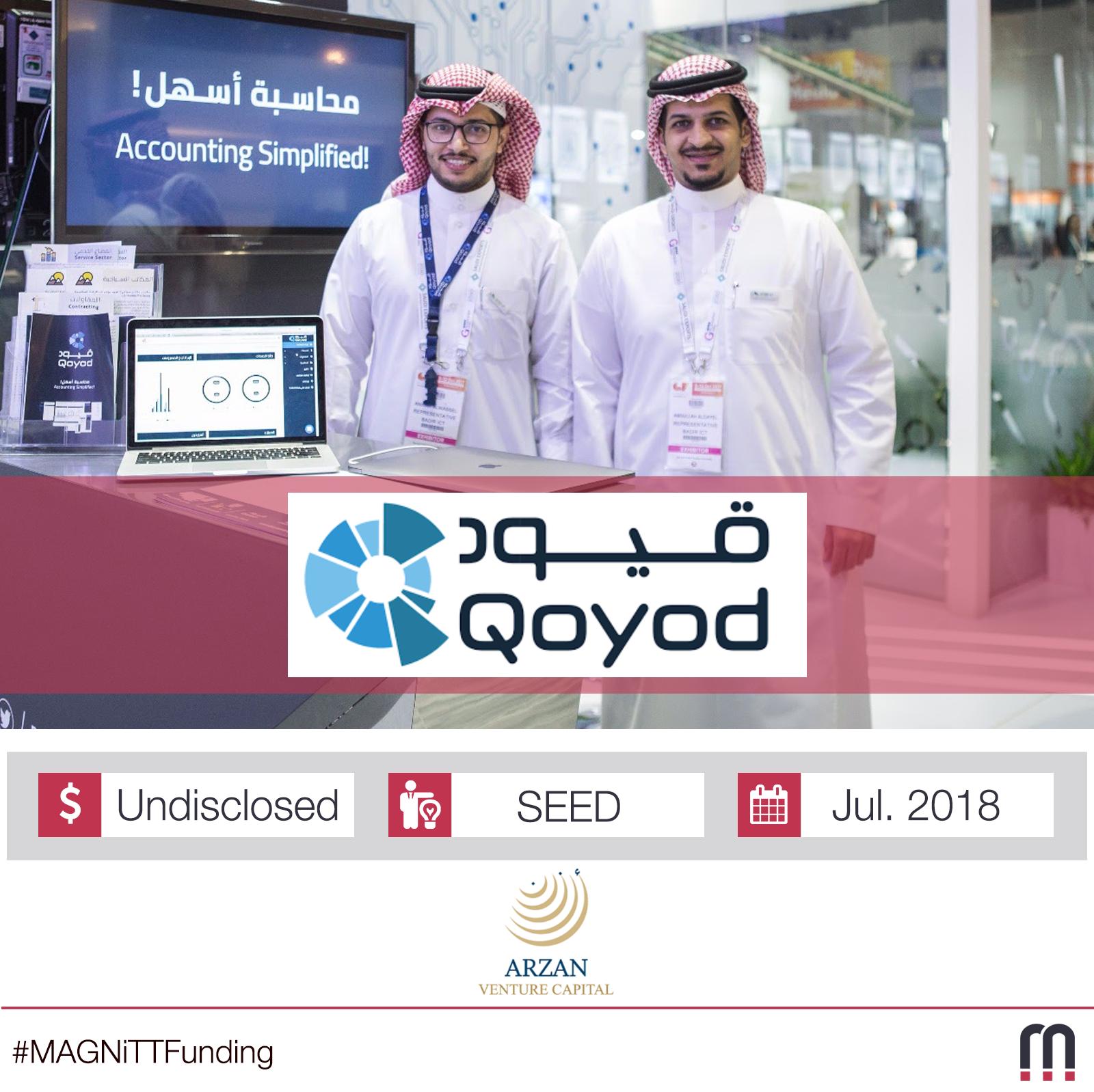Saudi Arabian Startup Qoyod Closes SEED Funding Round