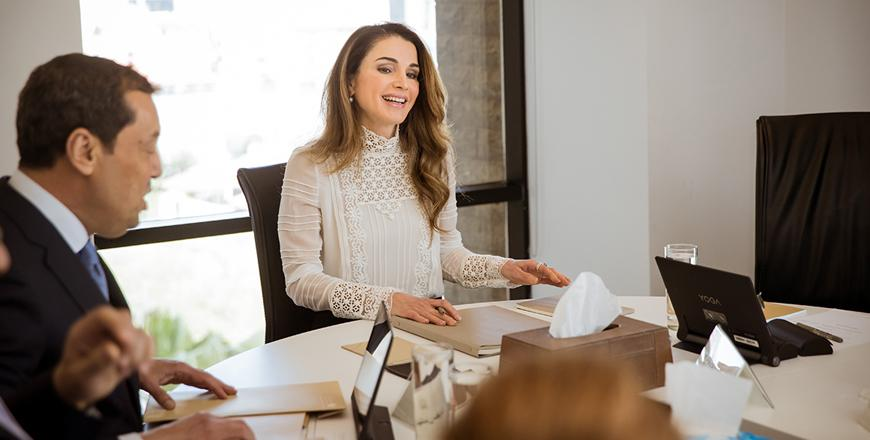 Queen Rania Foundation Launches Award for Education Entrepreneurship in the Arab World