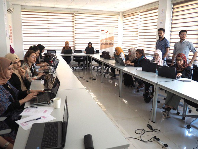 Iraq's conflict-affected youth learning how to code
