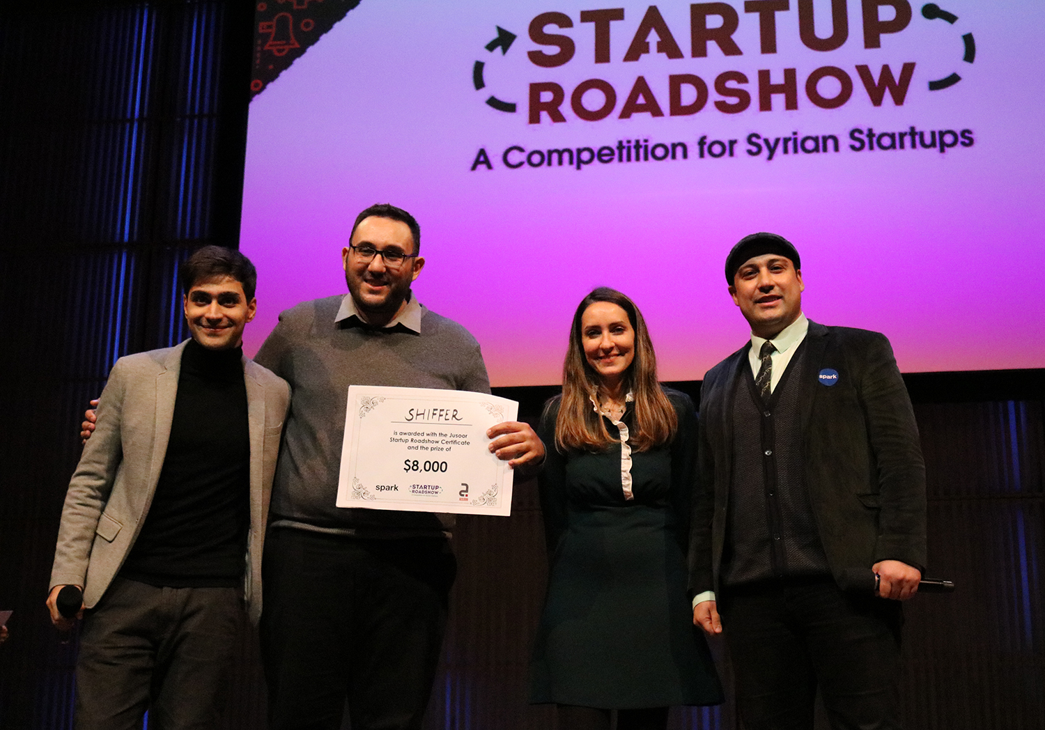 Syrian-led Startup Shiffer Wins the Startup Roadshow Finals in Amsterdam