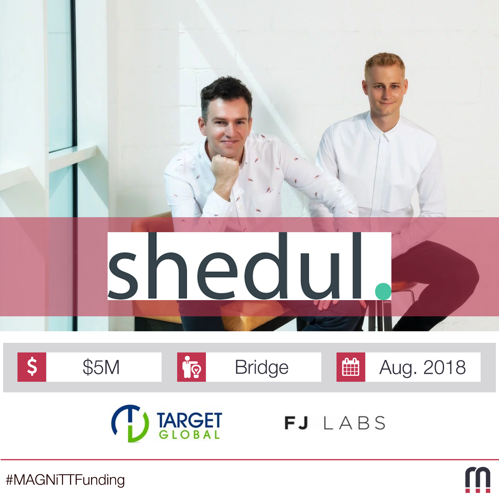 Shedul, the booking platform for salons and spas, picks up $5M investment