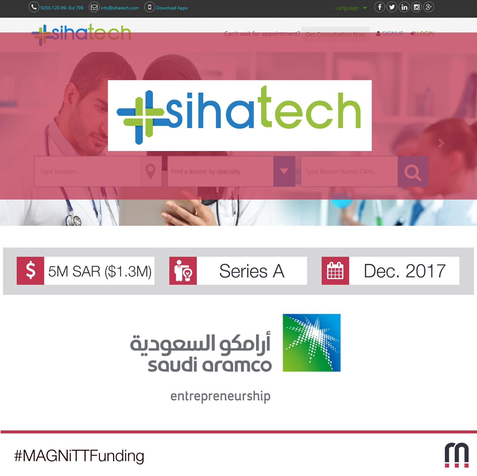 Saudi-Based Sihatech Raises $1.3m Series A Round
