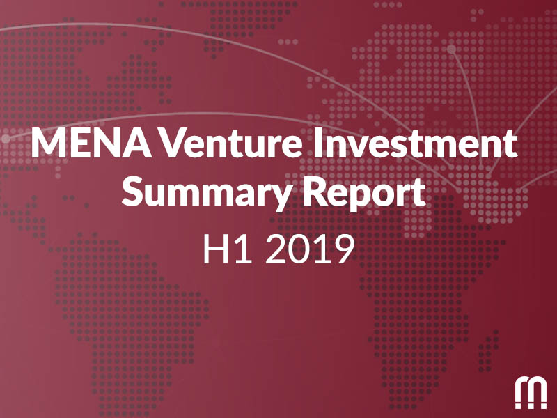 MENA Startup Ecosystem on the rise! MENA funding up 66% compared to the first 6 months of 2018, as revealed by MAGNiTT's H1 2019 MENA Venture Investment Report